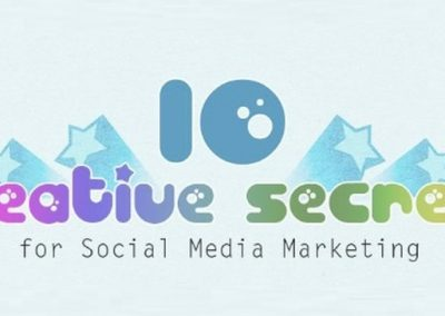 10 Creative Secrets for Social Media Marketing [Infographic]