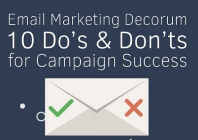 10 Dos and Don'ts for a Successful Email Marketing Campaign [Infographic]
