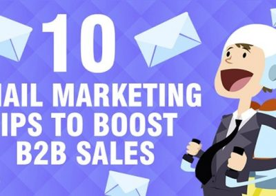 10 Email Marketing Tips to Boost B2B Sales [Infographic]