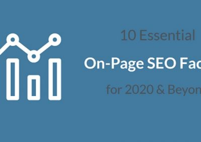 10 Essential On-Page SEO Factors for Google Success in 2020 and Beyond [Infographic]