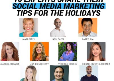 10 Experts Share Their Social Media Marketing Tips for the Holidays