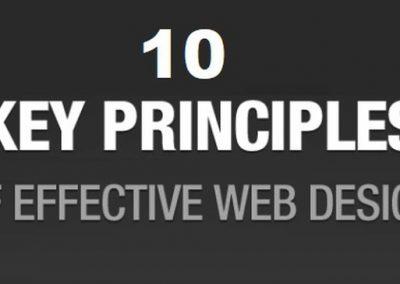 10 Key Principles of Effective Web Design [Infographic]