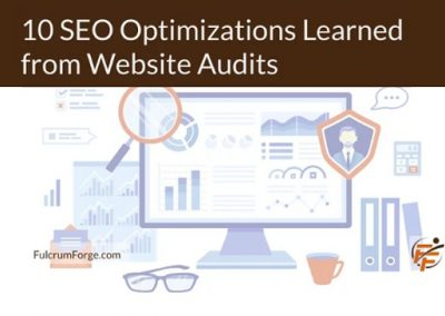 10 SEO Optimizations Learned from Website Audits [Infographic]