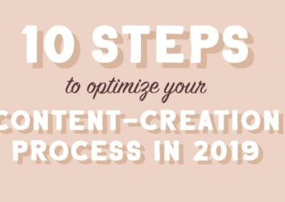 10 Steps to Improve Your Content Marketing Strategy in 2019 [Infographic]