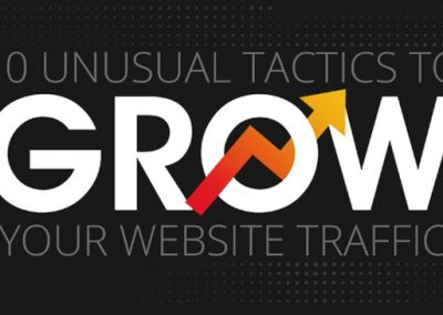 10 Underused Tactics to Increase Traffic to Your Website [Infographic]