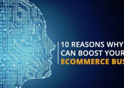 10 Ways That Artificial Intelligence Can Improve Your eCommerce Business [Infographic]