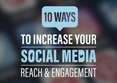 10 Ways to Increase Your Social Media Reach and Engagement [Infographic]