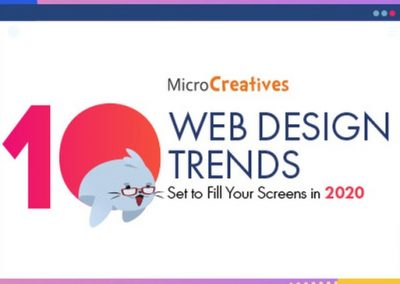 10 Web Design Trends Set to Fill Your Screens in 2020 [Infographic]