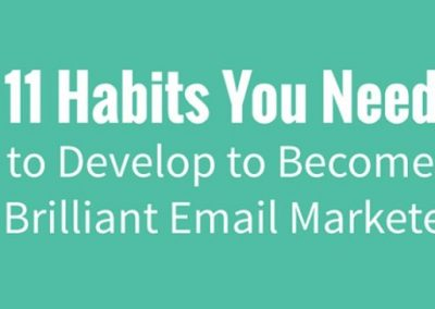 11 Fundamental Habits You Must Adopt to Become Brilliant at Email Marketing [Infographic]