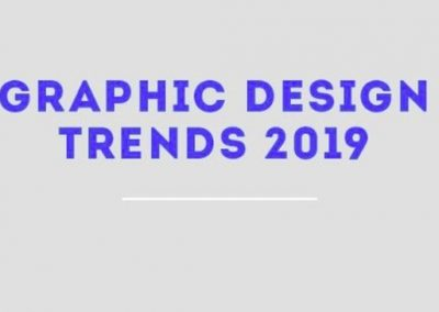 11 Graphic Design Trends for 2019 [infographic]