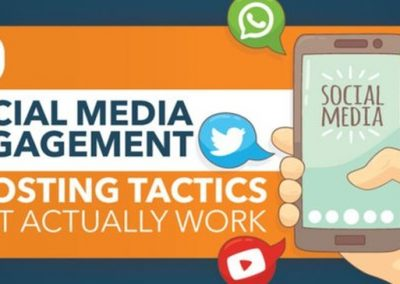 11 Social Media Engagement Boosting Tactics That Actually Work [Infographic]