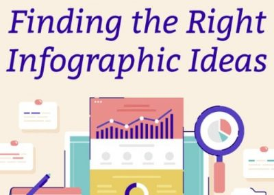 11 Tips on Finding the Right Infographic Ideas [Infographic]