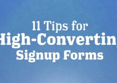 11 Tips to Create High-Converting Sign-up Forms for Your Website [Infographic]
