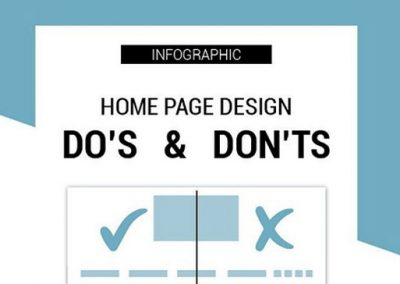 12 Home Page Dos and Don'ts for a Successful Business Website [Infographic]