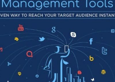 12 Social Media Management Tools to Help Maximize Your Digital Marketing Efforts [Infographic]