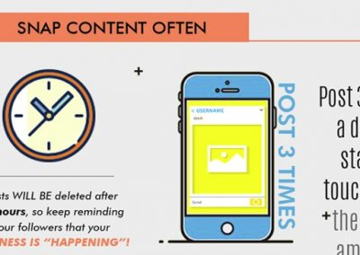 13 Tips for a Spectacular Snapchat Strategy [Infographic]
