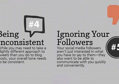 15 Ways to Fail at Social Media Marketing [Infographic]