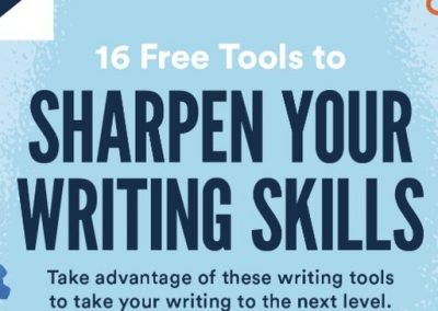 16 Free Tools to Sharpen Your Writing Skills [Infographic]