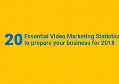 20 Essential Video Marketing Statistics [Infographic]