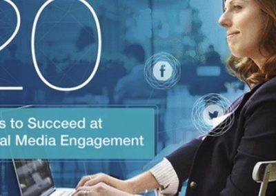 20 Social Media Tips to Increase Engagement With Your Followers [Infographic]