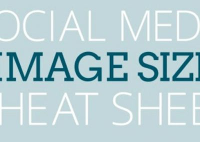 2017 Social Media Image Size Cheat Sheet [Infographic]