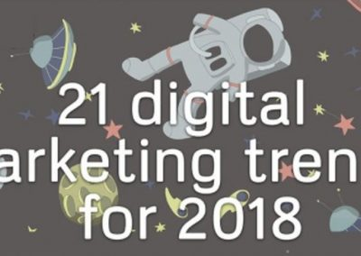 21 Digital Marketing Trends Your Business Must Embrace in 2018 [Infographic]