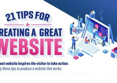 21 Tips for Creating a Great Website [Infographic]