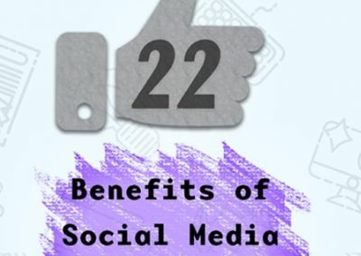 22 Benefits of Social Media for Business [Infographic]