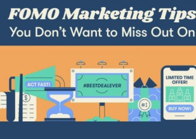 27 FOMO Marketing Tips You Don't Want to Miss Out On [Infographic]