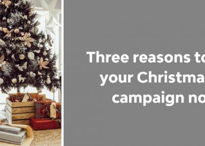 3 Reasons to Start Planning Your Christmas Social Campaigns Now [Infographic]