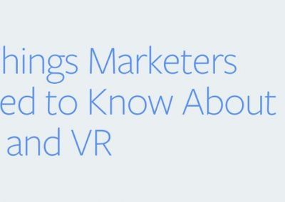 3 Things Marketers Need to Know About AR and VR [Infographic]