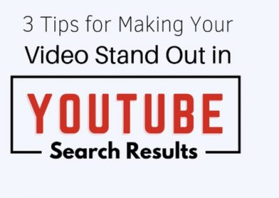 3 Tips to Help Make Your Video Stand Out in YouTube Search Results [Infographic]