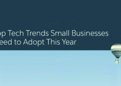 3 Top Tech Trends Small Businesses Need to Adopt This Year [Infographic]