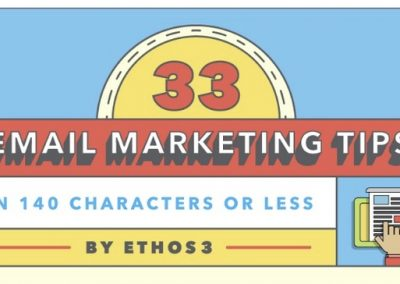 33 Quick and Actionable Tips to Improve Your Email Marketing Strategy [Infographic]