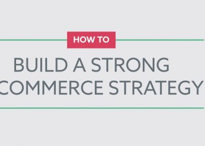 4 Steps to Build a Strong eCommerce Strategy [Infographic]