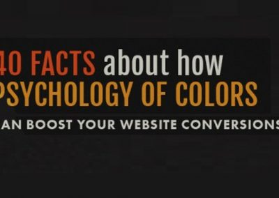 40 Facts About How Color Psychology Can Boost Your Website Conversions [Infographic]