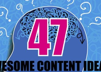 47 Content Ideas to Help Drive More Traffic to Your Website [Infographic]