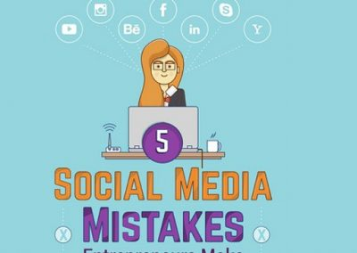 5 Common Social Media Mistakes Small Business Owners Must Avoid [Infographic]