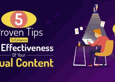 5 Proven Tips to Enhance the Effectiveness of Your Visual Content [Infographic]