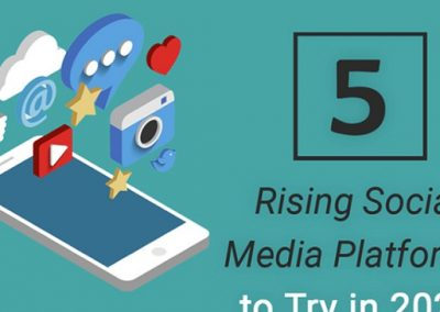 5 Rising Social Media Platforms to Add to Your Marketing Arsenal in 2020 [Infographic]