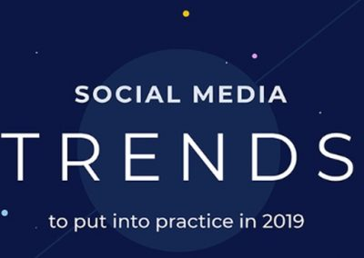 5 Social Media Trends to Put into Practice in 2019 [Infographic]