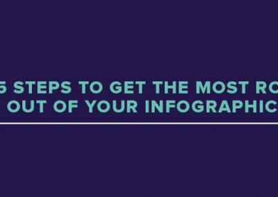 5 Steps to Get the Most ROI out of Your Infographic Marketing Campaign [Infographic]