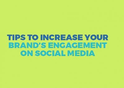 5 Tips to Increase Your Brand's Engagement on Social Media [Infographic]