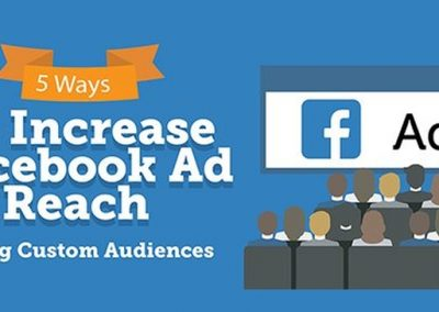 5 Ways to Increase Facebook Ad Reach Using Custom Audiences [Infographic]
