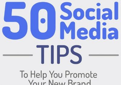 50 Social Media Tips to Help You Promote Your Brand [Infographic]
