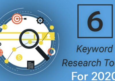 6 Keyword Research Tools to Improve Your SEO in 2020 and Beyond [Infographic]