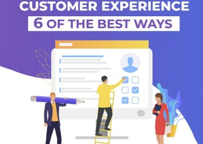 6 of the Best Ways to Improve Customer Experience [Infographic]