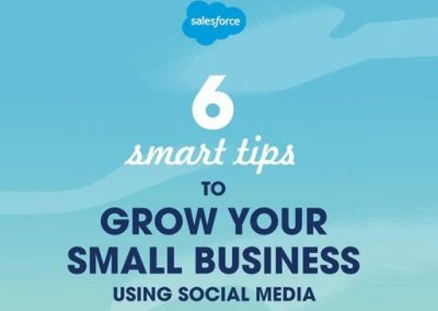 6 Smart Tips to Grow Your Small Business Using Social Media [Infographic]