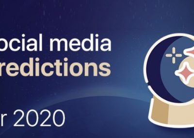 6 Social Media Predictions for 2020 [Infographic]