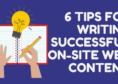 6 Tips for Writing Website Content Your Visitors and Google Will Love [Infographic]